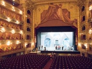 The auditorium, Teatro Colón