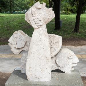 Public sculpture in Resistencia, Argentina